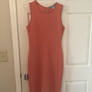Midi coral dress from Francesca's